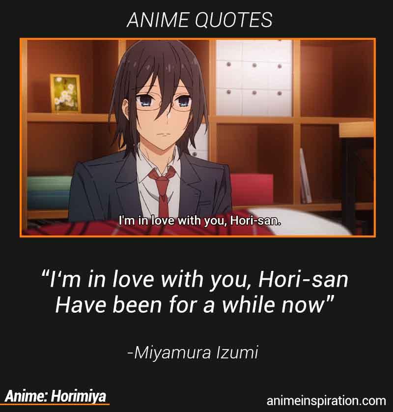 Miyamura Izumi Quotes