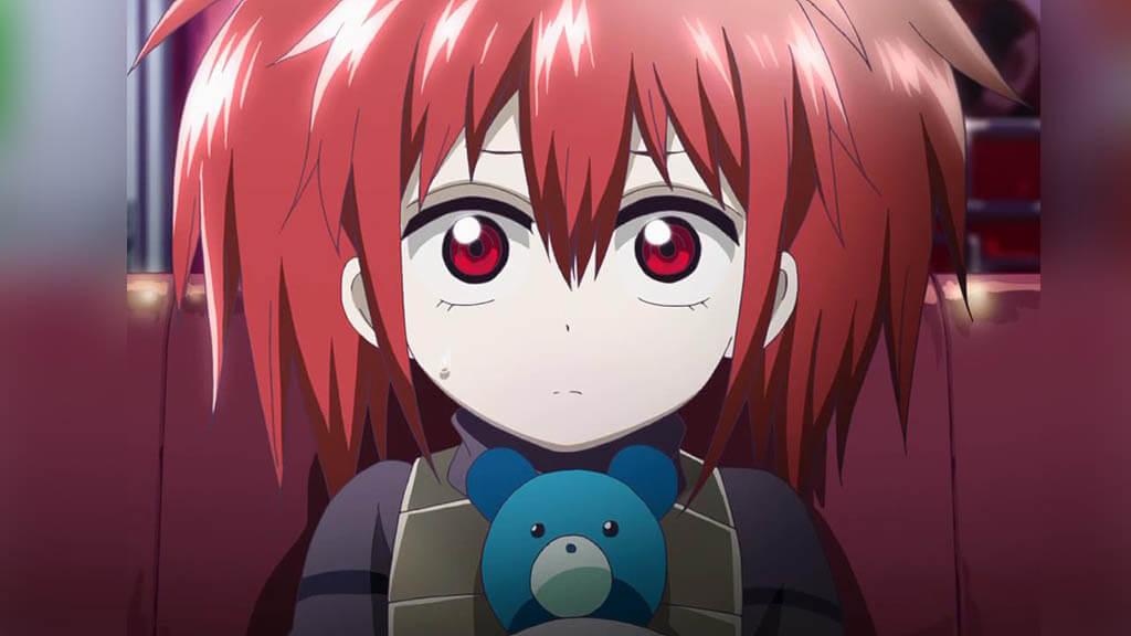 red hair anime girls
